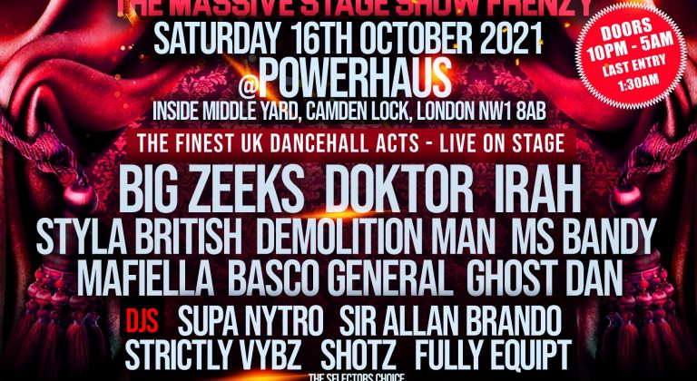Hot Rocks – The Massive Stage Show Frenzy | Live at PowerHaus Camden